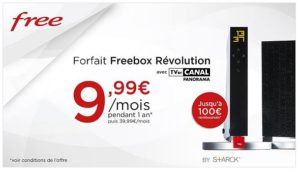 Image 1 : [Promo] Freebox Révolution + TV by CANAL Panorama à 9,99 €/mois