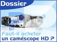 Image 1 : Comparatif de caméscopes HD