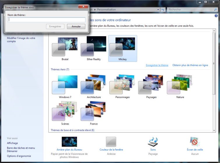 Image 1 : Personnalisez Windows 7