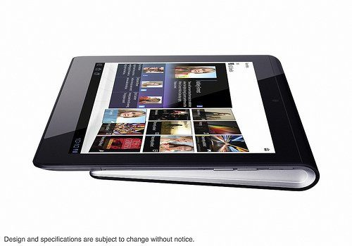 Image 1 : Sony officialise deux tablettes sous Android 3.0