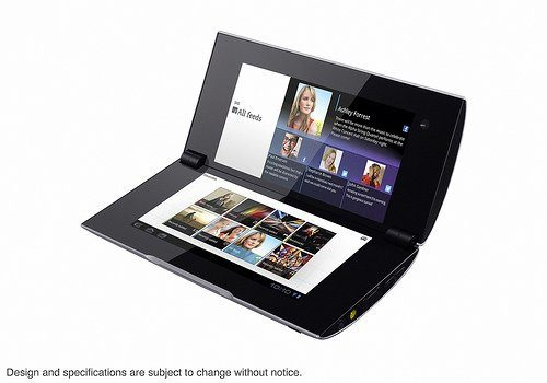 Image 2 : Sony officialise deux tablettes sous Android 3.0