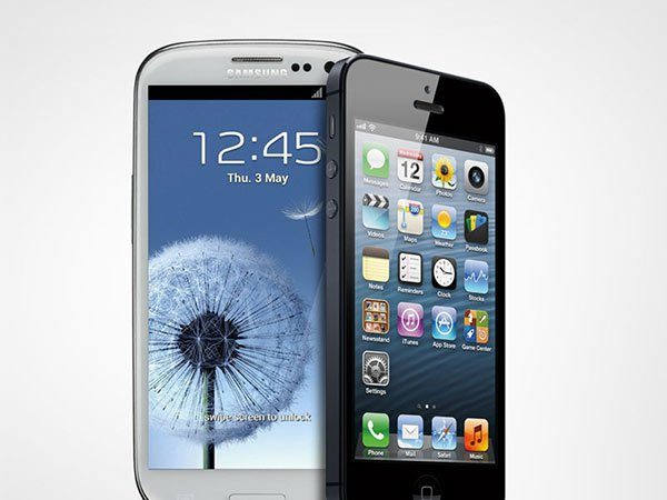 Image 1 : iPhone 5 vs Galaxy S3 : le choc des titans