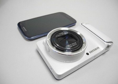 Image 1 : [Test] Galaxy Camera, l'appareil photo sous Android