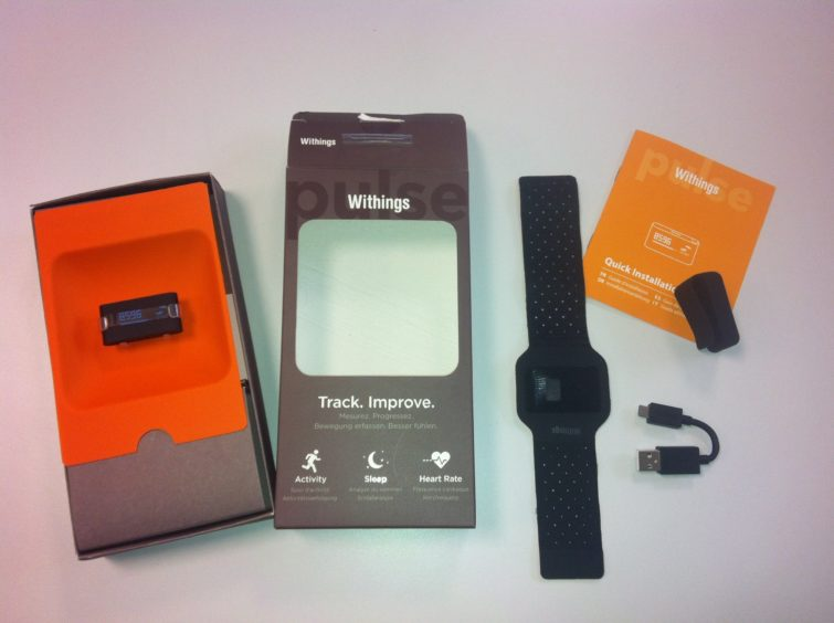Image 2 : [Test] Pulse de Withings : le coach du quotidien