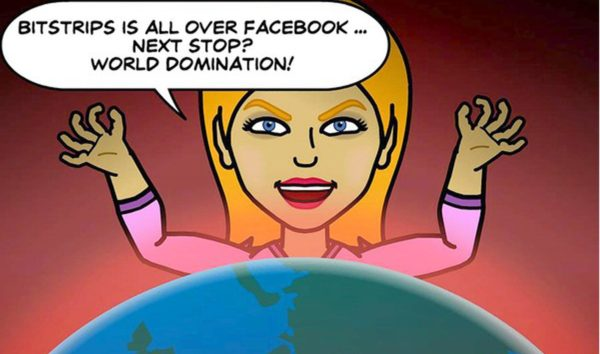 Image 1 : BitStrip, l'application BD qui explose sur Facebook