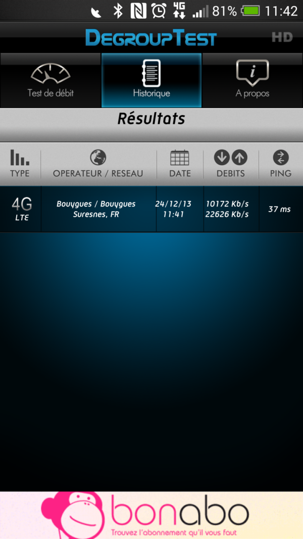 Image 1 : Performances 4G : Free Mobile bon dernier selon DegroupTest