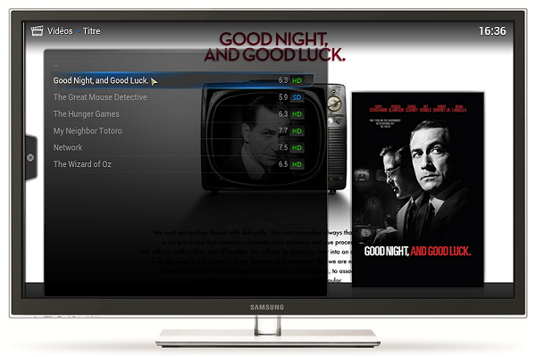 Image 1 : Comment transformer son PC en media center avec XBMC ?