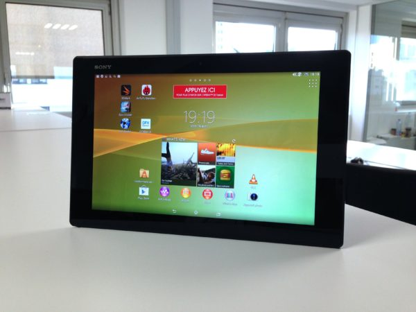 Image 1 : [Test] Xperia Z2 Tablet : Sony sort le grand jeu