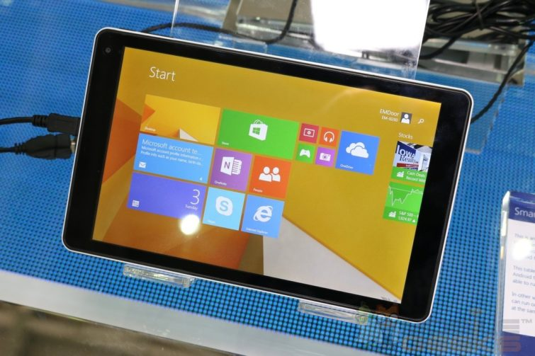 Image 1 : Emdoor EM-i8080 : la tablette Windows 8.1 à seulement 100 dollars