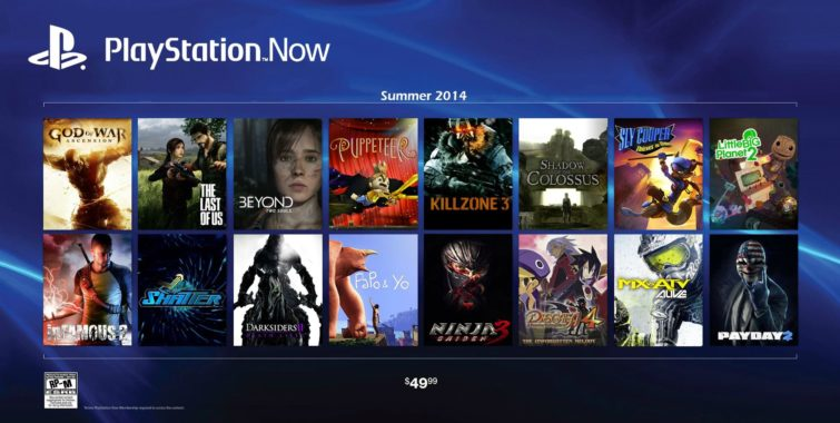 Image 1 : PlayStation Now : le streaming sur TV arrive