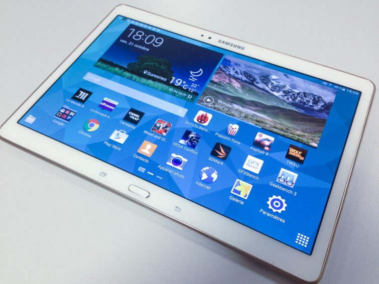 Image 3 : [Test] Galaxy Tab S : on craque ou pas ?