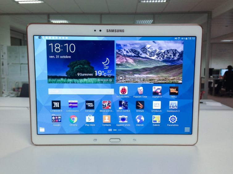 Image 4 : [Test] Galaxy Tab S : on craque ou pas ?