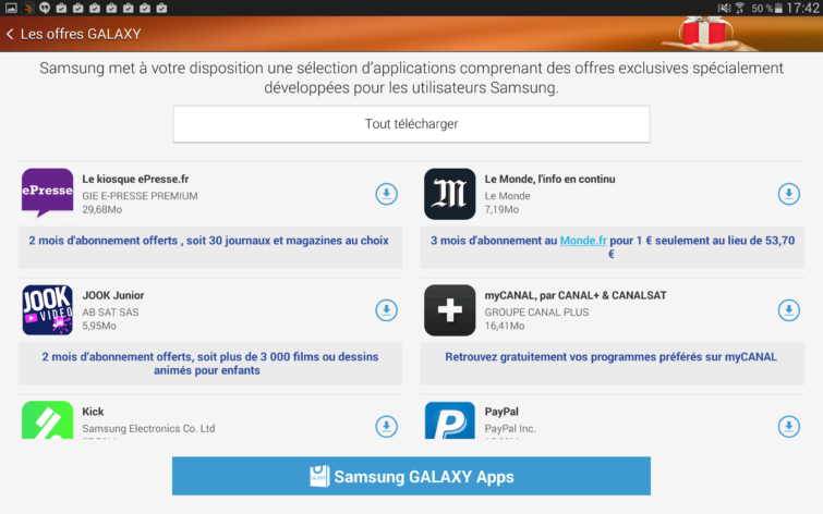 Image 7 : [Test] Galaxy Tab S : on craque ou pas ?