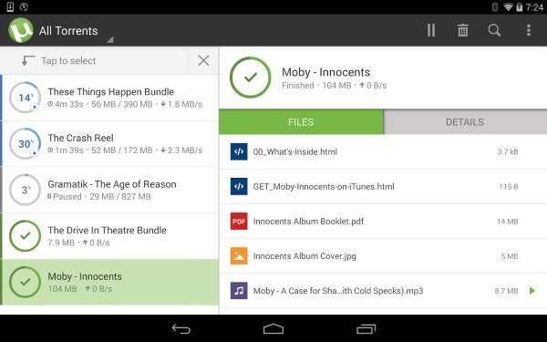 Image 1 : Android : les meilleures applications Torrent
