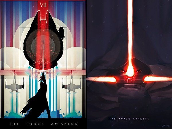 Image 1 : Star Wars : parodies, fan art, le Web s'empare du teaser