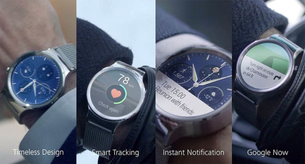 Image 2 : [MWC] Huawei Watch : gare à toi, Apple Watch !