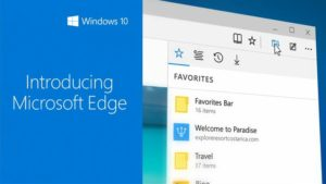 Image 2 : Project Spartan change de nom : voici Microsoft Edge !