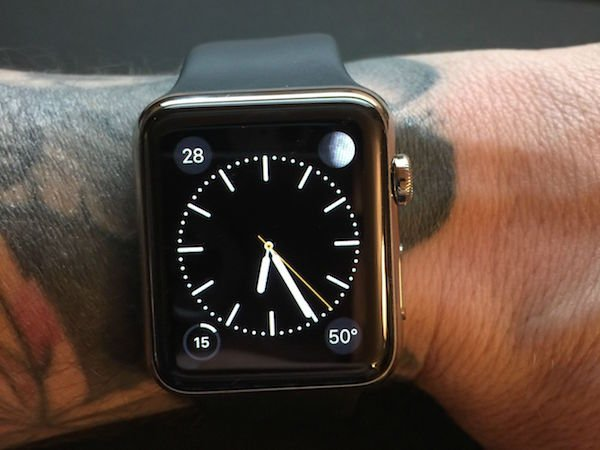 apple watch peau mot de passe