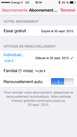 Image 3 : Apple Music : comment l'installer et le configurer