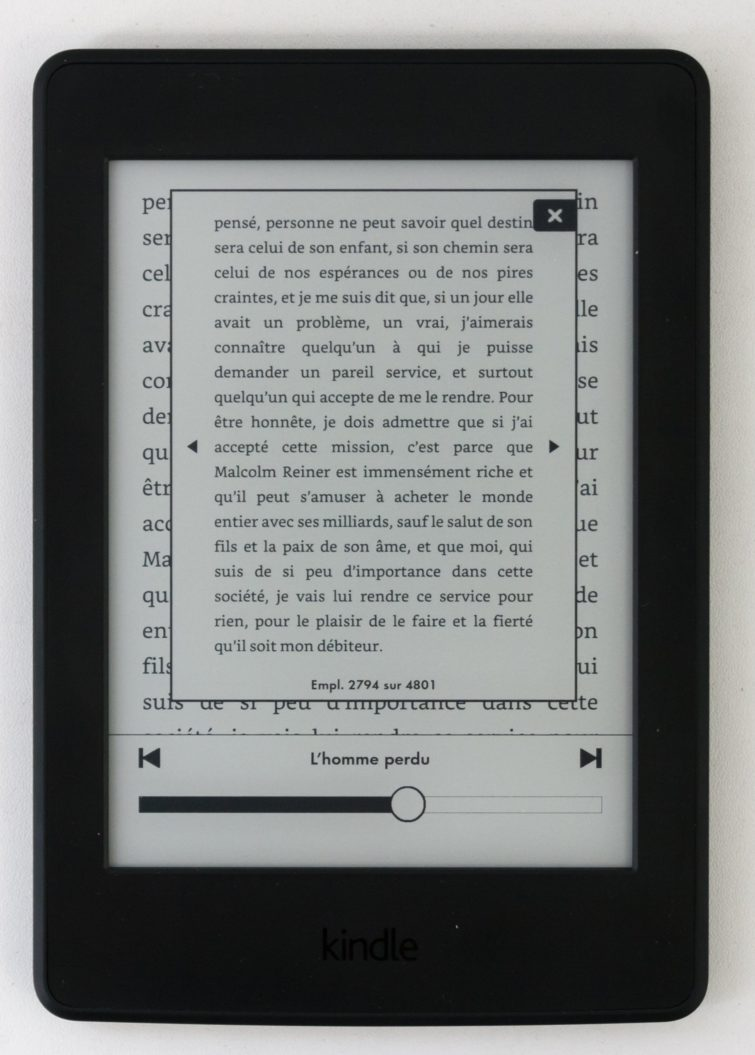 Image 4 : [Test] Kindle Paperwhite d'Amazon : on craque ou pas ?