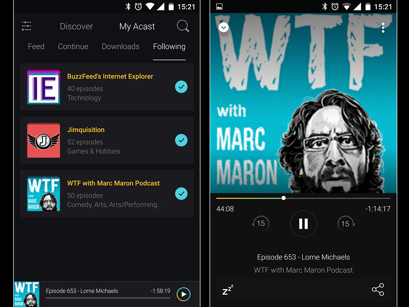 Image 4 : Podcasts : les meilleures applications pour Android