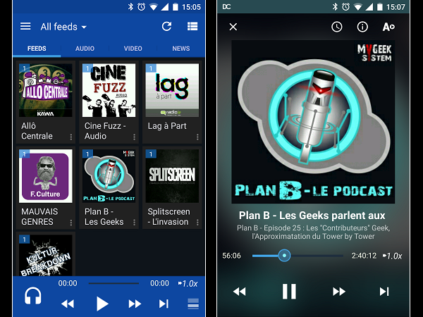 Image 15 : Podcasts : les meilleures applications pour Android