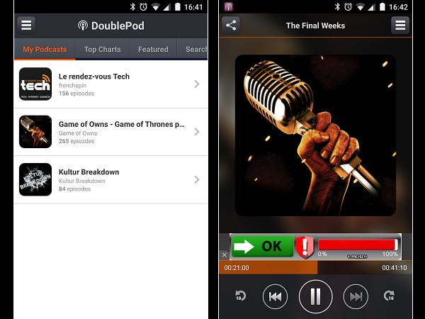 Image 10 : Podcasts : les meilleures applications pour Android