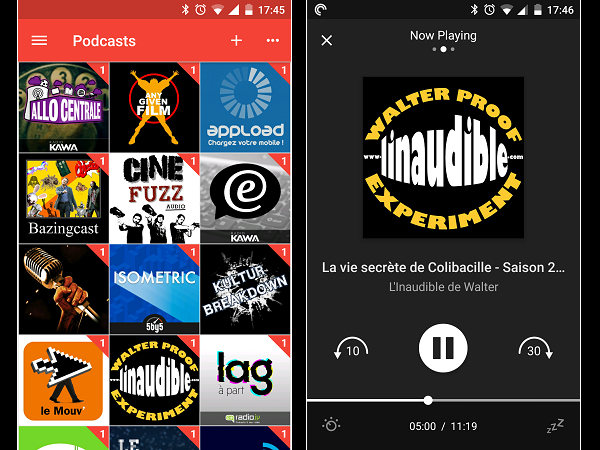 Image 12 : Podcasts : les meilleures applications pour Android