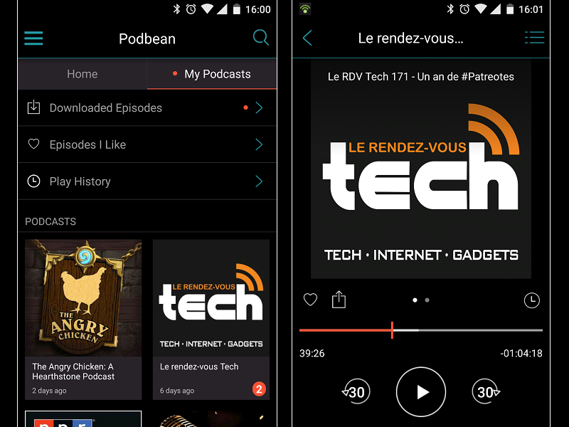 Image 5 : Podcasts : les meilleures applications pour Android