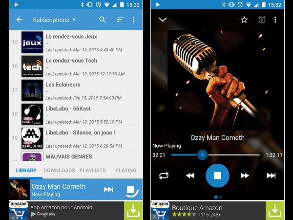 Image 8 : Podcasts : les meilleures applications pour Android