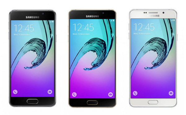 Image 1 : Samsung officialise les GalaxyA3, A5 et A7