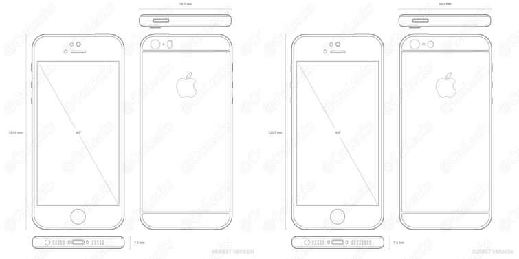 Image 2 : iPhone 5se (6c) : lancement le 18 mars à partir de 510 € ?