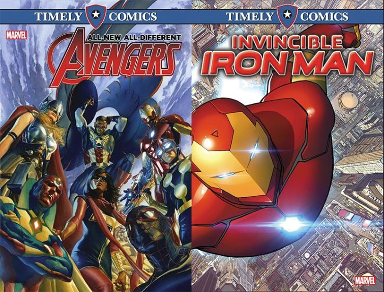 Image 2 : Marvel va retrouver son nom originel, Timely Comics