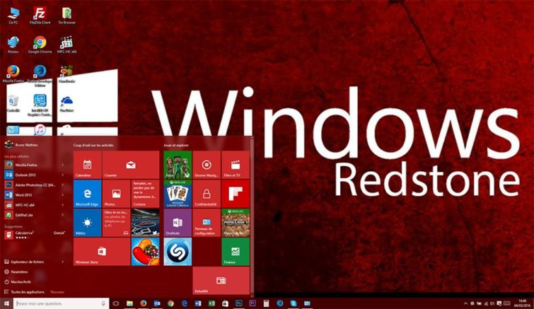 Image 1 : Windows 10 : la seconde vague de Redstone est repoussée à 2017