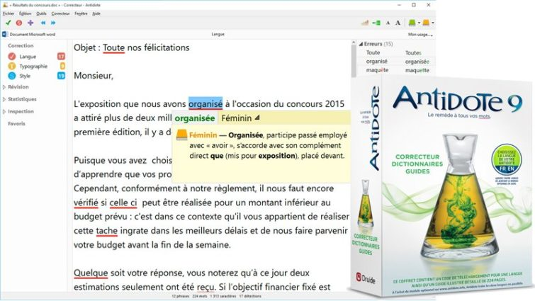 Image 1 : Concours : 5 licences d'Andidote 9 à gagner
