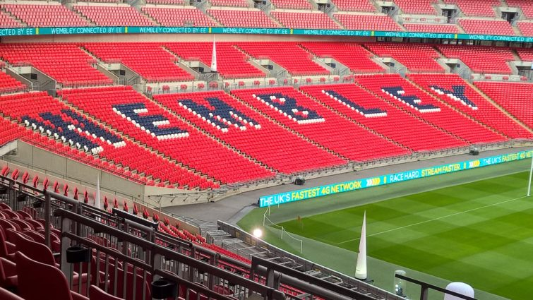 Image 2 : Course de drones au Wembley Stadium : on y était