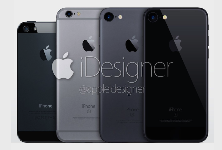 Image 1 : iPhone 7 : back in black ?