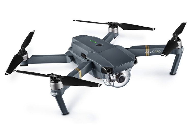 Image 1 : DJI Mavic Pro : le nouveau drone simple, compact et performant