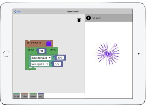 Image 1 : Blockly, l'application pour apprendre à programmer disponible sur iOS