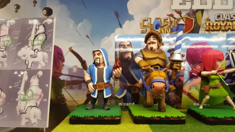 Image 4 : Clash of Clans / Clash Royale : et maintenant les figurines