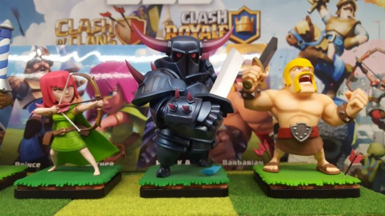 Image 1 : Clash of Clans / Clash Royale : et maintenant les figurines