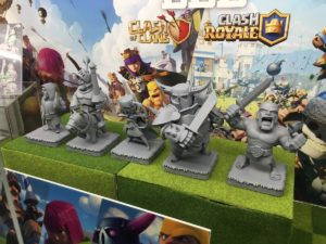 Image 2 : Clash of Clans / Clash Royale : et maintenant les figurines