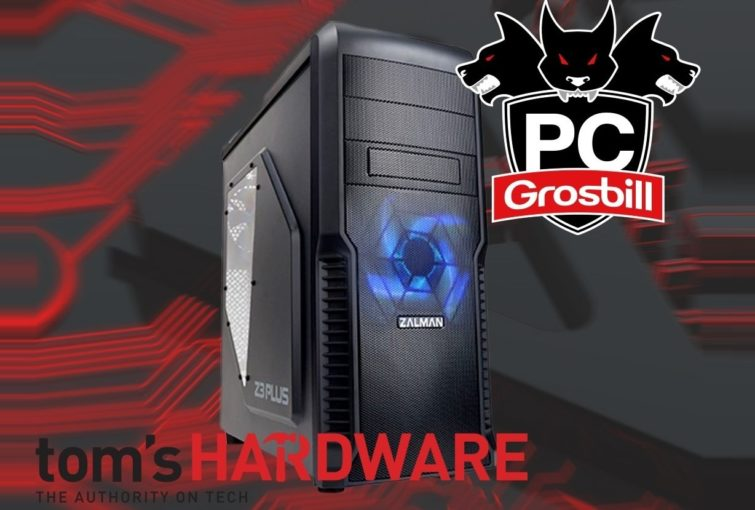 Image 1 : Test du PC gaming Tom's Hardware by Grosbill