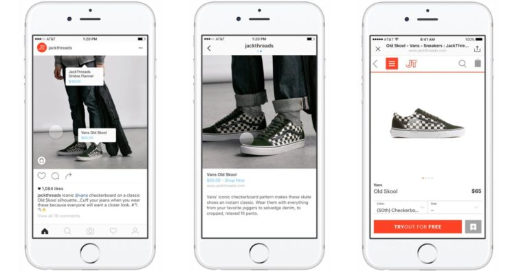 Image 1 : Faire son shopping sur Instagram, c'est possible