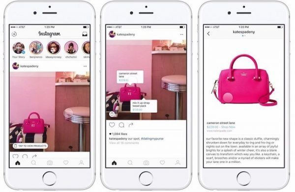 Image 2 : Faire son shopping sur Instagram, c'est possible