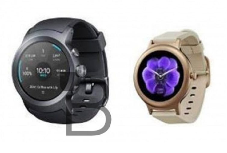 Image 1 : LG : des photos des futures montres Watch Sport et Watch Style