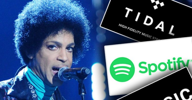Image 1 : Prince est de retour sur les sites de streaming audio