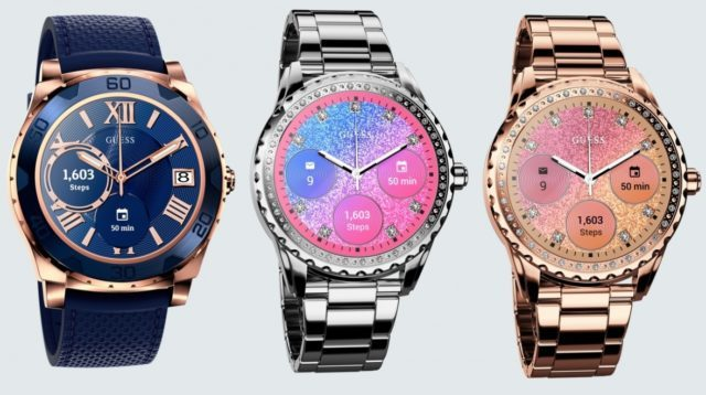 92dbfb5603 Guess lance une montre connectée Android Wear