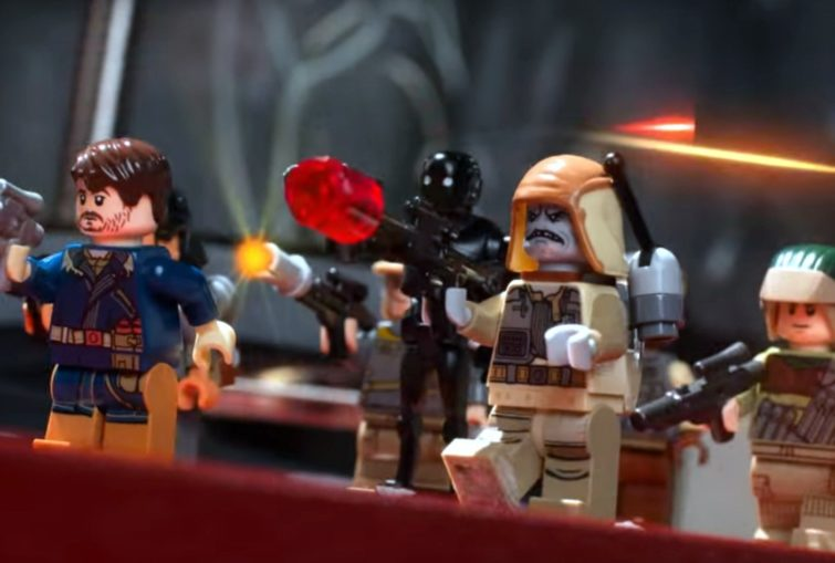 Image 1 : Star Wars : Disney se refait (presque) tout Rogue One en Lego
