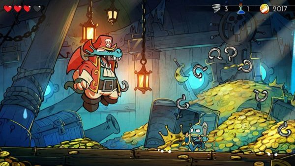 Image 1 : La Nintendo Switch accueille Wonder Boy : The Dragon's Trap
